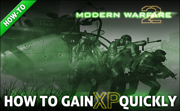 Gain xp experience points cod mw2